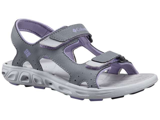Columbia Techsun Vent Sandals Youths tradewinds grey/white violet